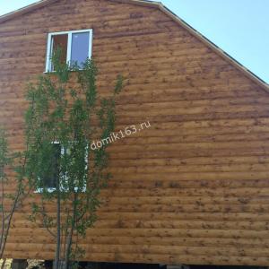 Дом по проекту Аккорд с увеличенной крышей