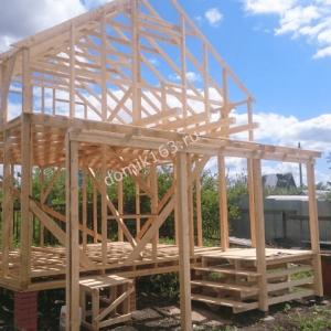Строительство дома по проекту Леванте в Водинском массиве