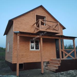 Дом по проекту Леванте в Водинском массиве (фасад)