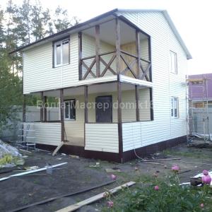 Каркасный дом 45 кв. м.