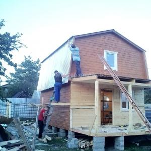 Дом по проекту Аккорд с террасой