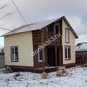 Построенный дом в дачном массиве СОК