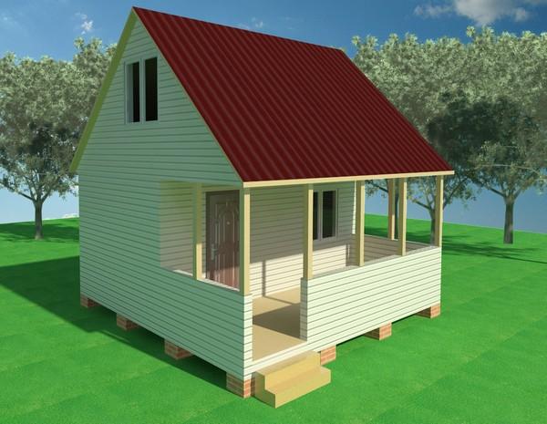 Brubeck каркасные дачные дома в самаре популярностью