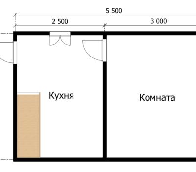Планировка дома Аккорд