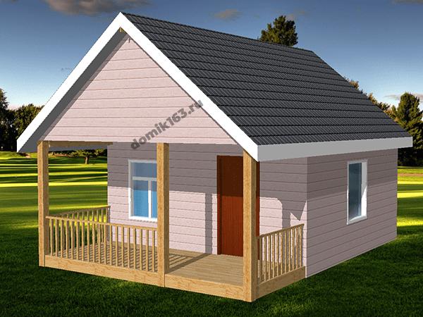 Проект дома Фазенда