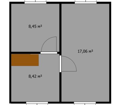 Планировка дома Фиеста-1