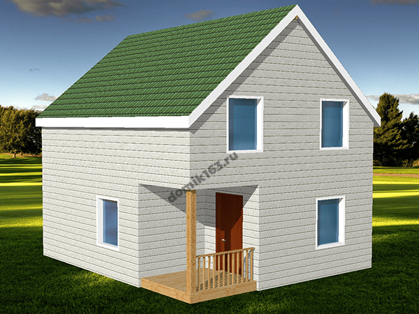 Проект дома Фиеста-1