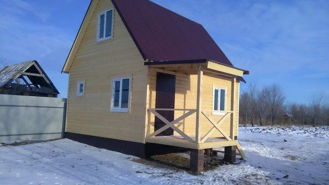 Готовый дом Леванте