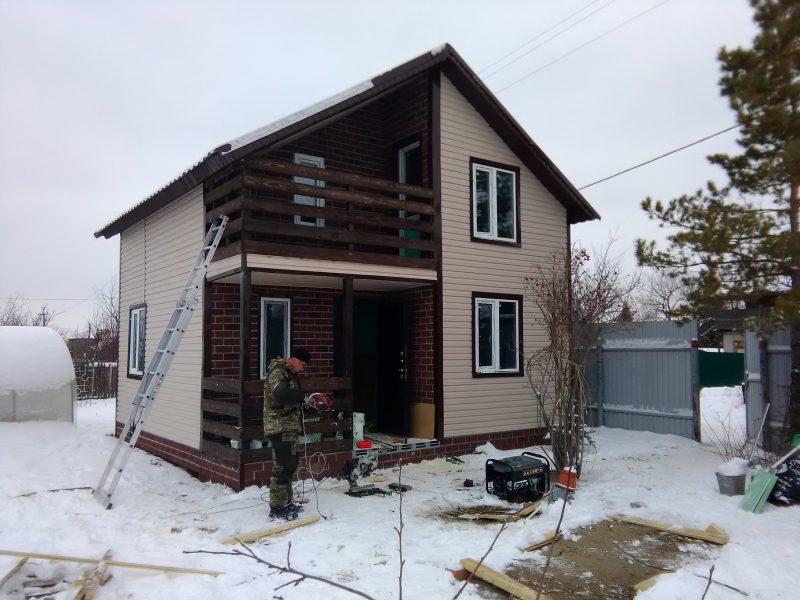 Готовый дом в Сокском массиве