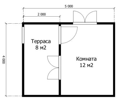 Планировка по проекту Миранда