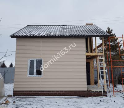 Дом Анастасия строительство