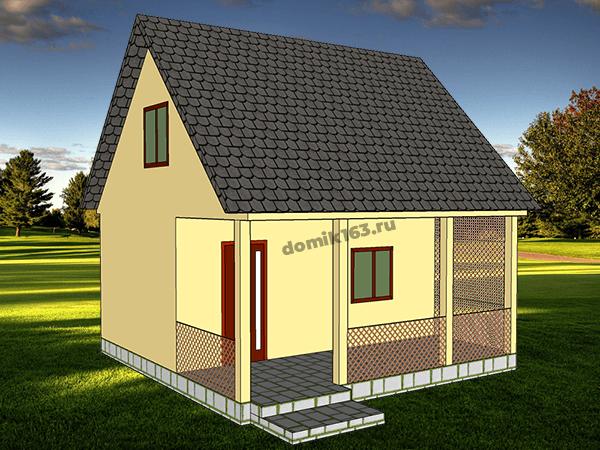 Проект дома Леон