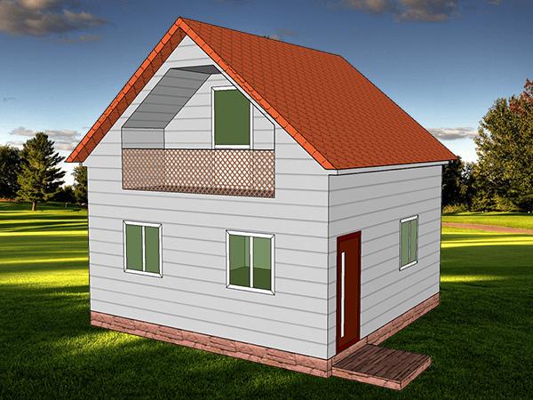 Проект дома Малага