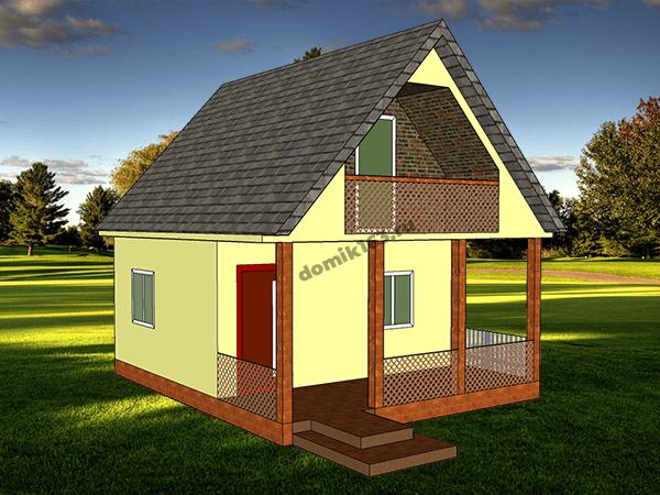 Проект дома Малага-1
