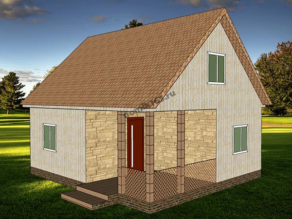 Проект дома Слобода