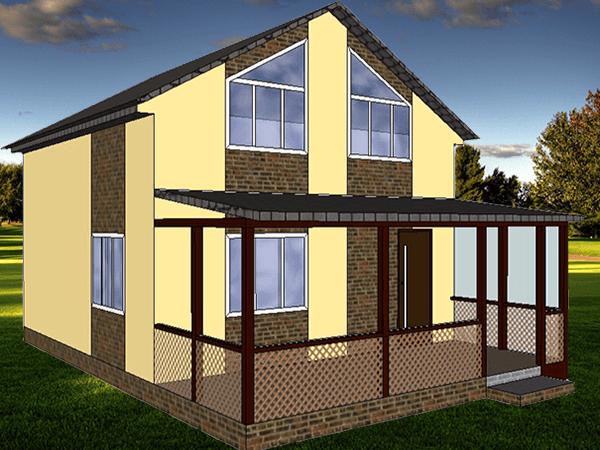 Проект дома Слобода-1