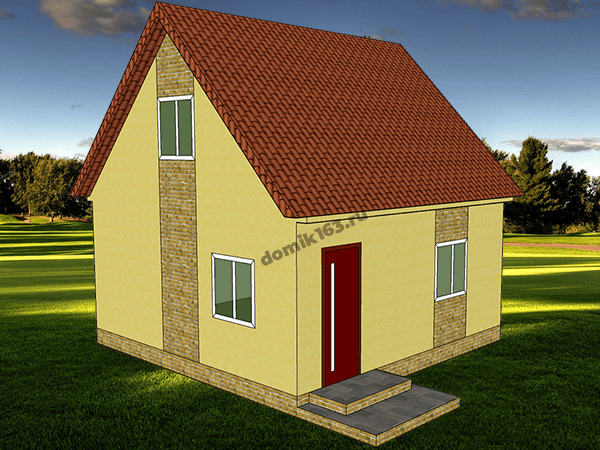 Проект дома Универсал