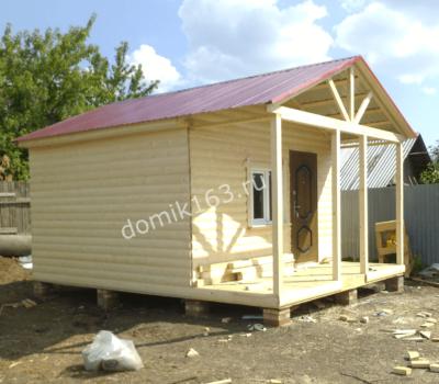 Маленький дом Фазенда в Новосемейкино