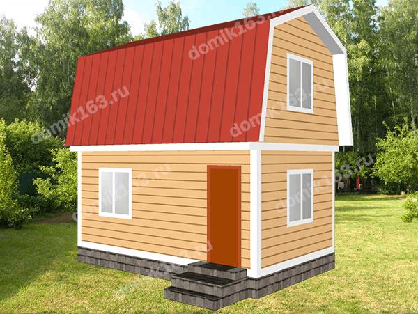 Дом по проекту Аккорд