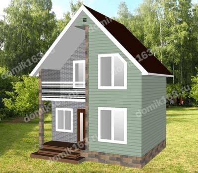 Проект дома Акация