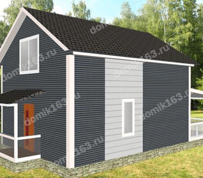 Проект дома Альфа-114