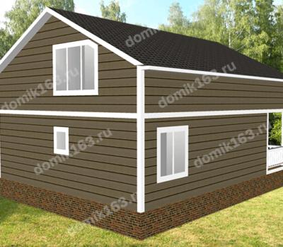 Проект дома Андорра-160