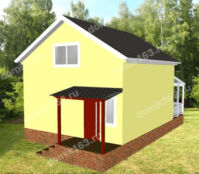 Дом по проекту Слобода-1