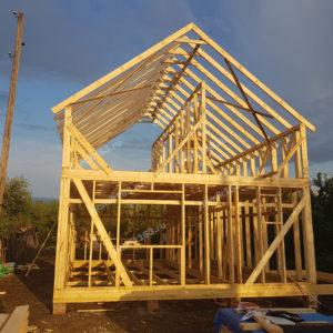 Строящийся дом Слобода-1 в Смышляевке