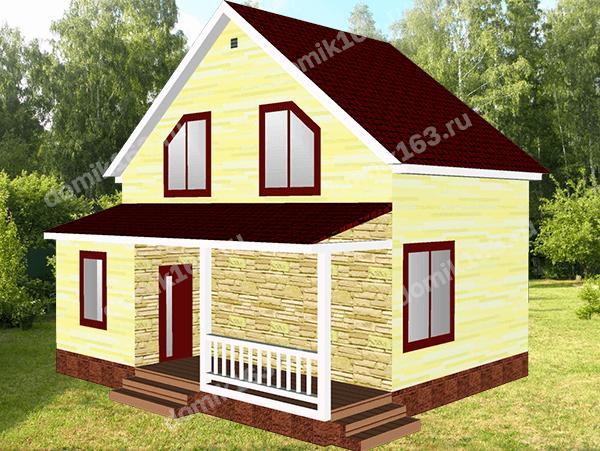 Проект дома Ливерпуль