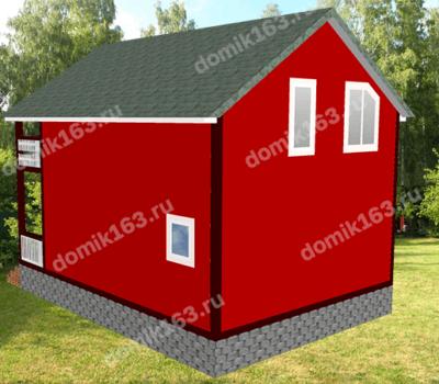 Проект дома Луч-96