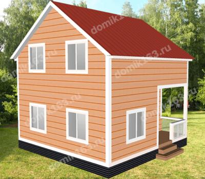 Проект дома Маяк