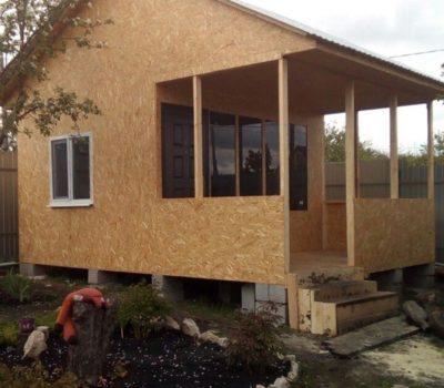 Готовый дом по проекту Миранда