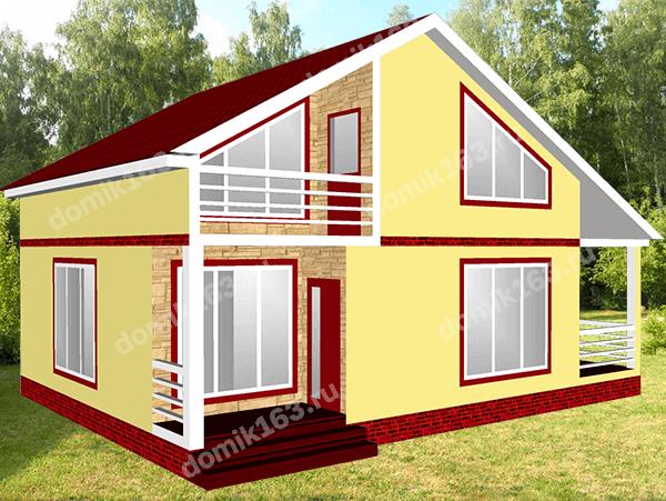 Проект дома Монако-144