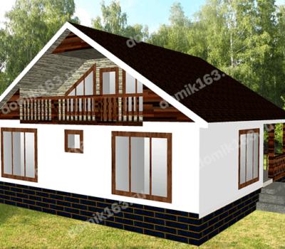 Проект дома Ницца-146