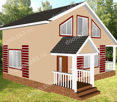 Проект дома Ривьера-112