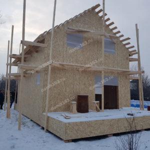 Строящийся дом Слобода-1 в Красноярском районе
