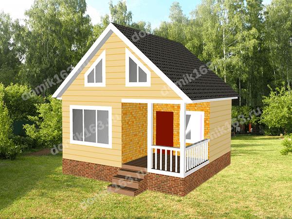 Проект дома Лилль