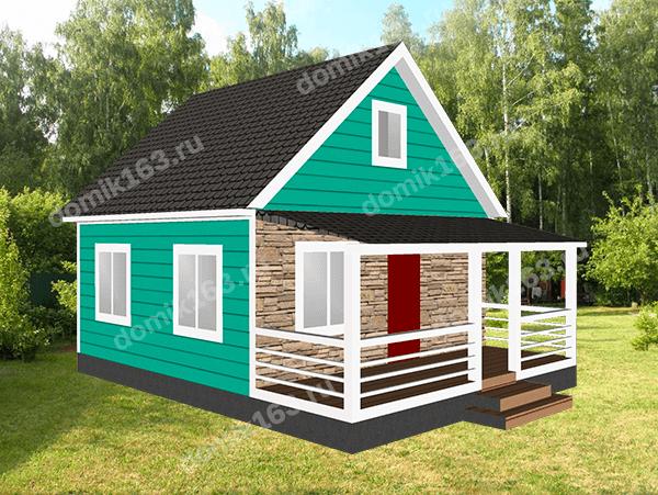 Дом по проекту Аврора