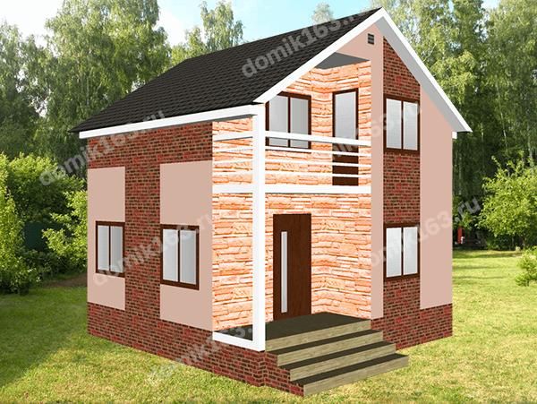 Проект дома Анастасия