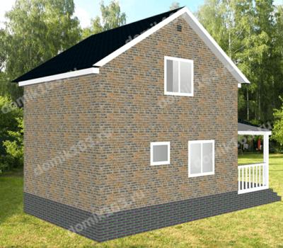 Проект дома Леванте