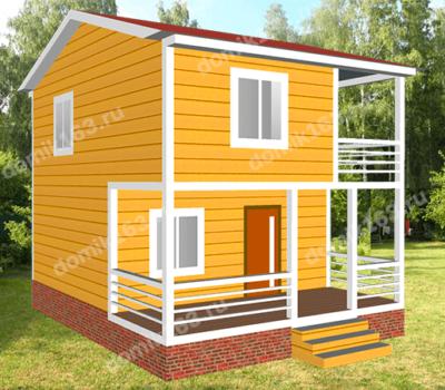 Проект дома Иволга